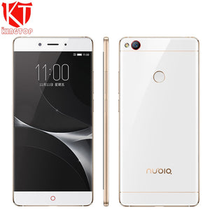 "KT New ZTE Nubia Z11 Mobile Phone 4GB RAM 64GB ROM Snapdragon 820 Quad Core 5.5"" Borderless 16MP NFC Fingerprint 4G Mobile Phone"