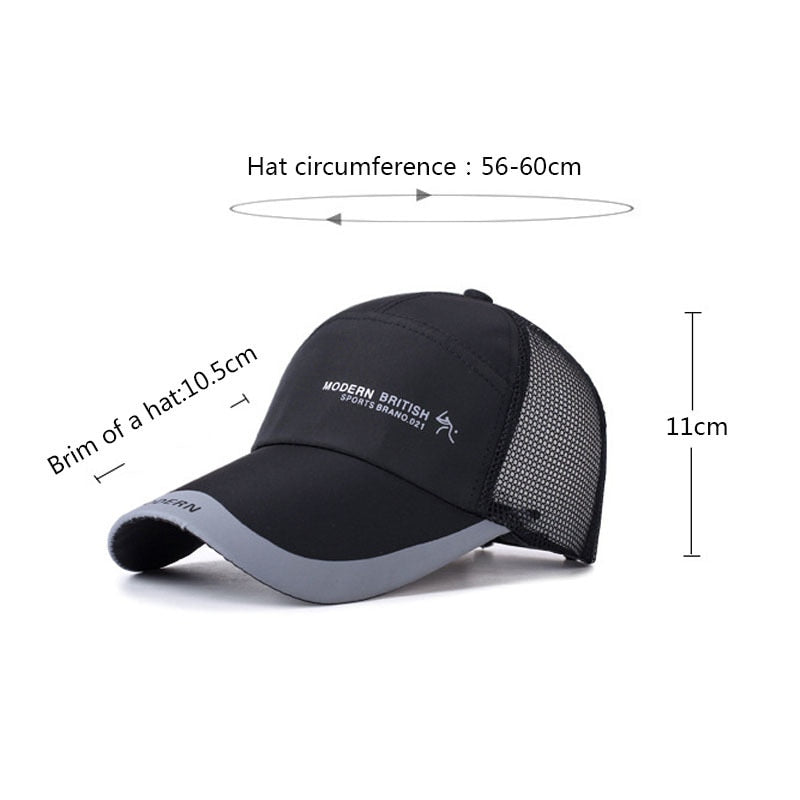 1542c900d9f ... LNRRABC Hot Sale Men s Baseball caps Multicolor Breathable Casual  Adjustable Letter Sports Mountaineering Cap For Women ...
