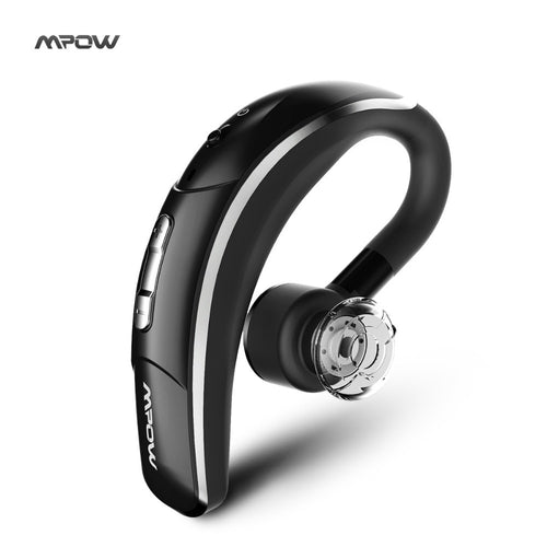 New Mpow Wireless Bluetooth 4.1 Headset Headphones with CSR chip Clear Voice Capture Tech microphone handsfree single ear phone