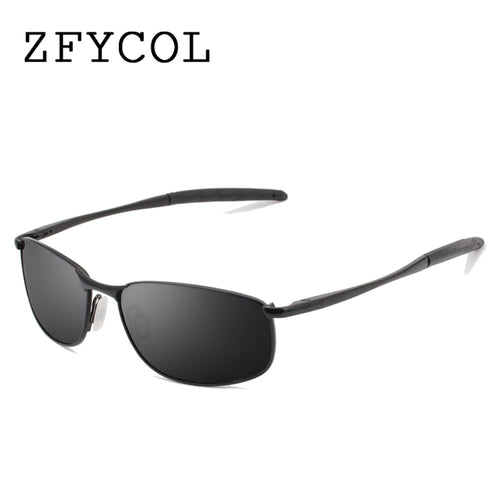 ZFYCOL 2017 Sunglasses Men Polarized Famous Brand Designer Driving Sun glasses Male Mirror Lens Gafas Oculos UV400