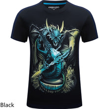2018 summer Men's brand clothing O-Neck short sleeve animal T-shirt monkey/lion 3D Digital Printed T shirt Homme large size Imported