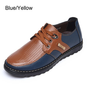 New Style Selling Like Microfiber Leather Casual Men's Boots Single and velvet Warm Boot Lace-Up Shoes Stitching Trend