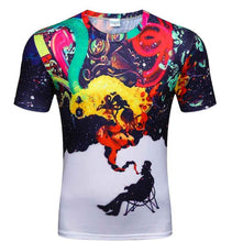 Demon 3D T Shirt Compression Shirt Mens Originality Shirt Bodybuilding Tights Short Sleeve Fitness Crossfit Brand Clothning