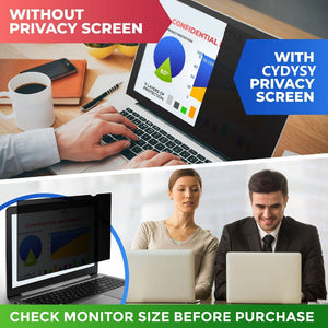 "15.6 inch Privacy Filter Screens Protective film for 16:9 Laptop 13 7/16 "" wide x 7 5/8 "" high (344mm*194mm)"
