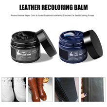 Leather Recoloring Balm Car Leather Seat Repair
