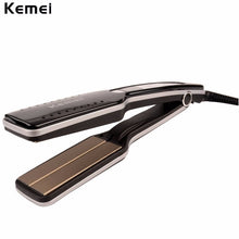 New Professional Tourmaline Ceramic Anion Wide Plate Hair Straightener LCD Digital Display Flat Iron Straightening Irons Styling