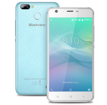 Blackview A7 Pro 4G LTE Smartphone Android 7.0 MTK6737 Quad Core 2GB RAM 16GB ROM 8.0MP+0.3MP Fingerprint Mobile Phone