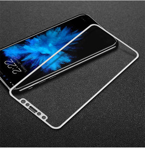Tsimak 4D Tempered Glass For iPhone X Screen Protector 2nd Gen 3D Full Curved Edge Safety For iPhone X 10 Glass Phone Film Case