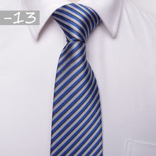 classic men business formal wedding tie 8cm stripe neck tie fashion shirt dress accessories