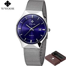 Brand Luxury Men's Watch Date 50m Waterproof Ultra Thin Clock Male Casual Quartz Watches Men Wrist Sport Watch