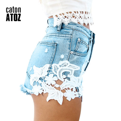 b291cafa26f 1996 New Arrival Women's Fashion Brand Vintage Tassel Lace Ripped Loose High  Waisted Shorts Jeans Punk Sexy Denim Shorts - OnshopDeal.com