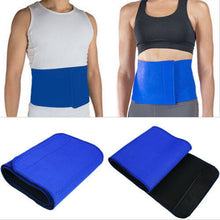 Premium Unisex Hot Shaper Belt (Blue), Fat Cutter & Fat Burner Sweat Slim Belt Freesize For All