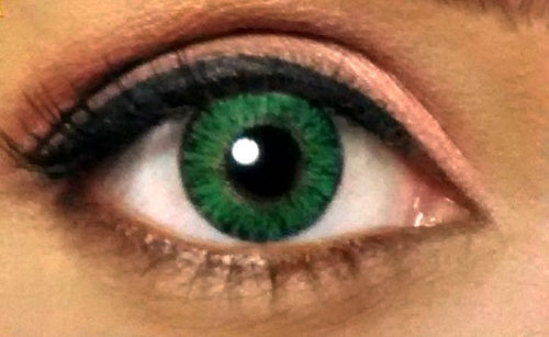 Celebration Yearly Color Contact Lenses - Calypso Green