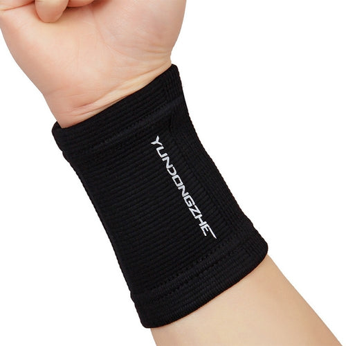 Sweat Band Wrist Knitted Fitness Wristband bandage Sneakers for Basketball Tennis Brace Gym Strap Poignet Wrist Protector 2017