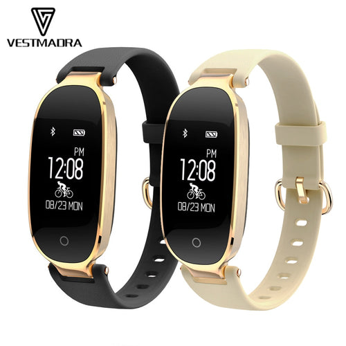 VESTMADRA S3 Fitness Tracker Smart Wristband Waterproof Heart Rate Smart Band Sports Activities Smart Bracelet for Lady Female