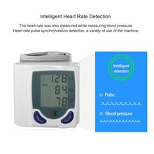 Health Care Automatic Digital LCD Wrist Blood Pressure Monitor for Measuring Heart Beat And Pulse Rate DIA SYS drop shipping