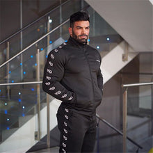 2017 new male zipper design men's jacket, high-quality men's autumn sportswear brand men's black jacket S-XXL