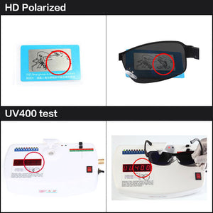 2018 Brand Designer HD Polarized Oculos fashion Men women Sunglasses UV400 Protection Sun Glasses male driving eyewear with box
