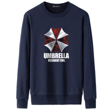 2018 Fashion Hipster Resident Evil Print Hoodies Game Umbrella Hooded Coat Thick Cotton men casual pullover Jacket Sweatshirts