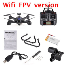 X191 2.4G 4CH 2.0MP HD Camera 5.8G / Wifi FPV Selfie Drone Professional Quadcopter GPS RTH Height Hold RC Helicopter Dron