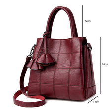 YASICAIDI Fashion Pu Leather Women Shoulder Bags Famous Designer Vintage Tassel Large Women Messenger Bags Ladies Tote Bags Sac