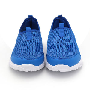 Brand Summer Style Male Lazy Network Shoes Lovers Shoes Foot Wrapping Breathable Mesh Shoes Drop Shipping Plus Size