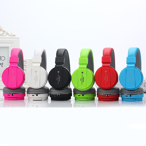 SH12 High quality Sound Wireless Bluetooth Headset SH-12 (Color Based on availability)