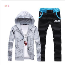 Spring and Autumn  suit Men's  Long sleeve Thin section  Casual jacket and pants two pc set suit 20 COLOR M-5XL