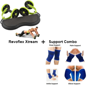 Multi Home Gym + Knee, Palm Ankle Elbow Combo set