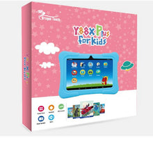 DragonTouch Y88X Plus 7 inch blue Kids Tablets for Children Quad Core Android 5.1 +Tablet bag+ Screen Protector gifts for Child