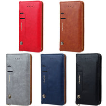 CMAI2 for iPhone 7 Card Holder Leather Case Cover Plus Magnetic Business Wallet Coque Capinha for iPhone7 7Plus