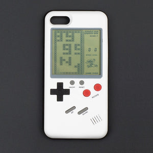 Tetris Ninetendo Phone Cases for iPhone X 6plus 6s 7 7plus 8 8plus Play Blokus Game Console Cover Protective Gift Fitted Case