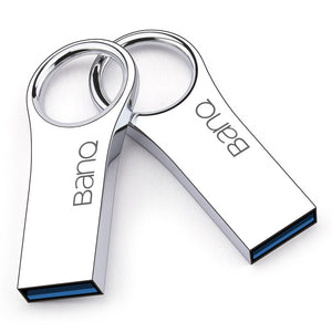 BanQ P80 128GB 64GB 32GB 16GB USB 3.0 Flash Drives Fashion High Speed Metal Waterproof Usb Stick Pen Drive Free shipping