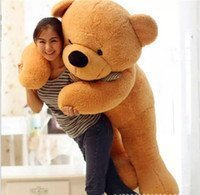 Sana Life Size Stuffed Soft Teddy Bear (Brown, 4 Feet)