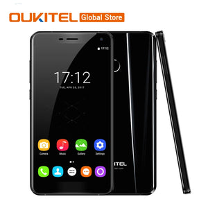 "Original Oukitel U11 Plus 5.7""FHD Octa Core 4GB RAM 64GB ROM MTK6750T Android 7.0 13.0MP 1920x1080 3700mAh Fingerprint CellPhone"