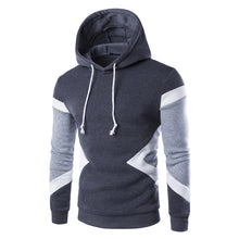 2017 Spring Mens Hoodies Streetwear M-XXL Casual Male Tracksuit Hooded Sweatshirt Men Brand O-neck Patchwork Hoodies Men Autumn