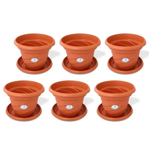 Joyo Evergreen Planter with Lid-111 (Pack of 6)