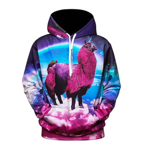 Paint Fashion Stylish Men/Women Hooded Hoodies 3d Print Paint Eyes Thin Sweatshirts Tracksuits Pullovers Galaxy Hoodies With hat