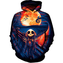3D Flamingo Print Hoodies Hoody Sweatshirts Hot Fashion Couples Male Female Unisex Horror Skull  Jacket Pullover Tops Halloween