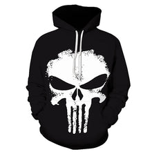Punisher Hoodies Women Men 3D Sweatshirts Superhero Pullover Novelty Tracksuit Fashion Hooded Streetwear Autumn Casual Jacket