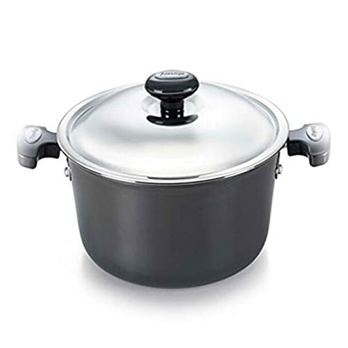 Prestige Signature Induction Base Aluminum Casserole 200mm Black