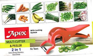 5 Blade Multi Cutter And Peeler - 2 In 1