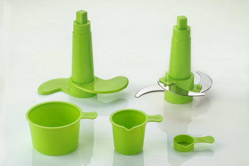 Trio dough maker+vegetable cutter+beater/churner