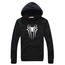 fashion hooded funny solid colors hoodies 2017 autumn winter harajuku fitness New Spiderman streetwear hip-hop tracksuits pullo