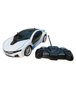 Bmw I8 Electric Chargeable 3D Lightning Remote Control Famous Car