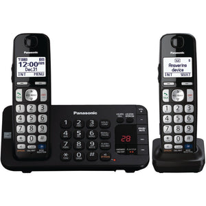 "Panasonic KX-TGE243B DECT 6.0 Plus Expandable Digital Cordless Answering System (3-Handset System) (""PANKXTGE243B"")"