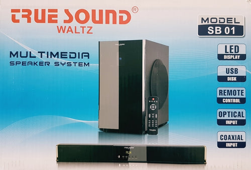 Wireless Home Theater System True Sound HD 14000 PMPO  (SB-01)