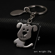 dog keychain keyfob cute key ring for women puppy key chain llaveros mujer high quality portachiavi key holder chaveiro