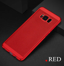 Heat dissipation Matte hard case For samsung Galaxy s8 s8plus s7 s7 edge s6 s6 edge a5 2016 a5 2017 Back Cover phone shell