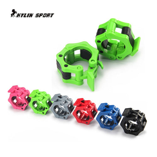Four-color large buckle fitness equipment weightlifting dumbbell accessories barbell pole weight plate free shipping